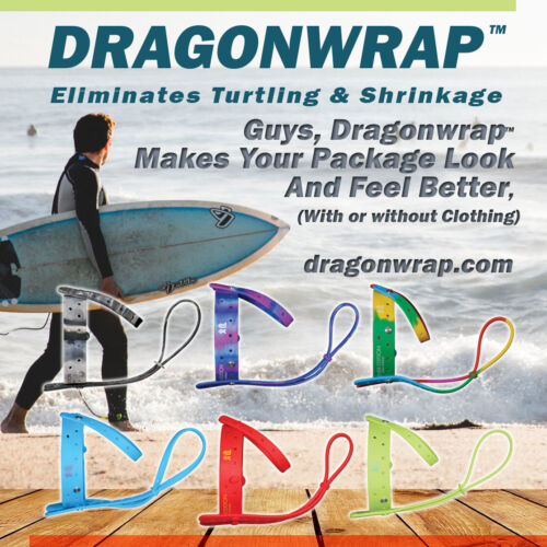 Dragonwrap   Black & White - Guys Commando, mens bikini, mens thong, Golf Shorts