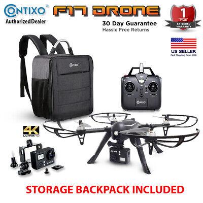 Contixo F17 Best 2020 Long Range GPS Drone 4K UHD Camera Drone Case Air Selfie