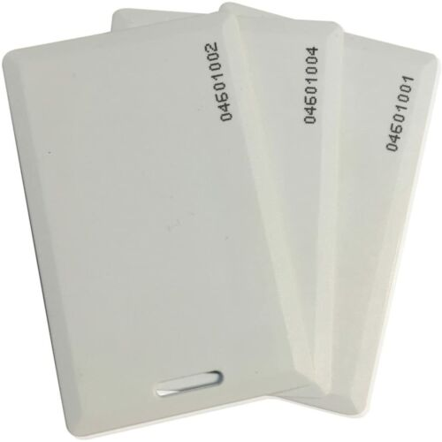 3pc 125kHz RFID Proximity Smart Card 1.9mm thick for Access Control System