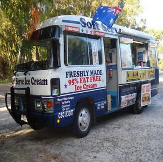 Soft serve Ice Cream Van &very profitable Business for Sale.