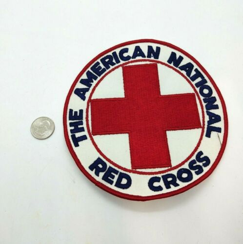 The American National Red Cross Patch