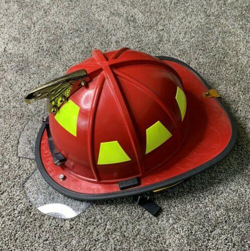 HONEYWELL STRUCTURAL FIREFIGHTING FIBERGLASS COMPOSITE HELMET!