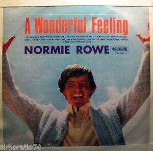 NORMIE-ROWE-A-Wonderful-Feeling-OZ-LP-Original-1960s-Mono-Sunshine