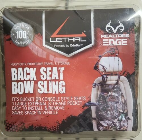 Lethal Products BACK SEAT BOW SLING REALTREE EDGE - 955367-1