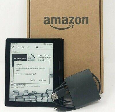 Amazon Kindle Oasis (8th Generation) 4GB - Wi-Fi, 6in - Anti-Glare - Black