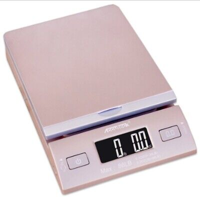 New Accuteck 86 Lbs Digital Postal Scale Shipping Electronic Scales Usps Gold