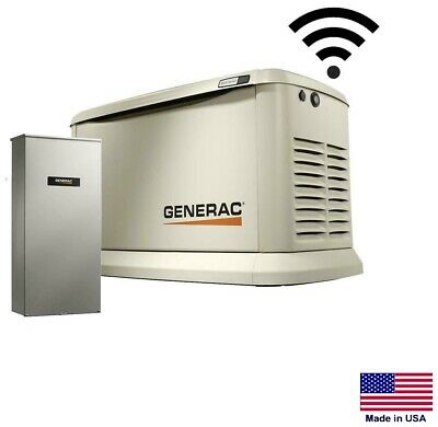 Standby Generator - Residential - 16 Kw - Ng Lp W200 Amp Transfer Switch Se