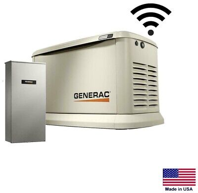 Standby Generator - Residential - 22 Kw - Ng Lp W200 Amp Transfer Switch Se