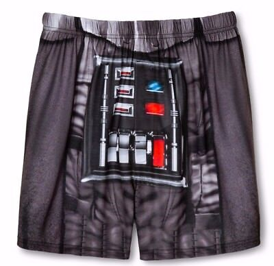 Star Wars Darth Vader Costume Boxers Sleep Boxer Shorts Underwear Mens S M L