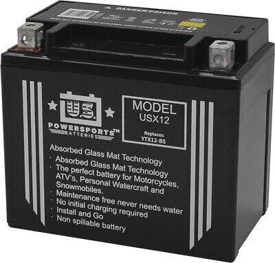 US Powersports Battery For Daelim VL 125 Fi Daystar 2009