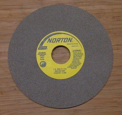Norton Grinding Wheel 7 X 14 X 1-14 53a100-g8v New