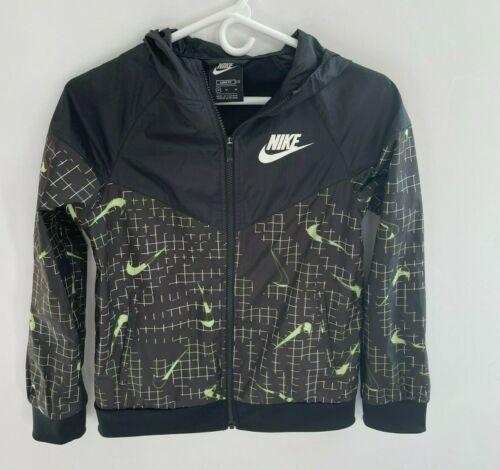 Nike sportswear windbreaker allover Nike print windrunner Boys MEDIUM