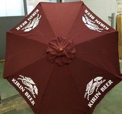 Kirin Beer 7 foot patio umbrella ~ NEW In BOX ~