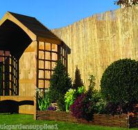 8m X 2m Reed Screening / Screen / Garden Fencing - ruddings wood - ebay.co.uk