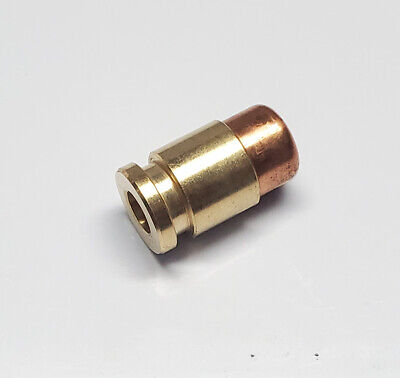 Mini Perfect Brass & Copper lanyard EDC Hollow Point Bullet Bead