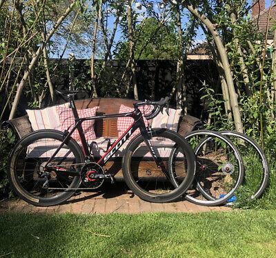 Scott Foil TeamIssue Carbon road bike size L (56cm) + power meter & new groupset