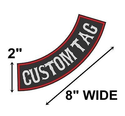 Custom Embroidered 8