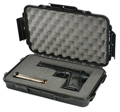 Waterproof Handgun Case Pistol Case with Pre-cubed Foam Elephant Elite EL012 (Elite Gun Cases)