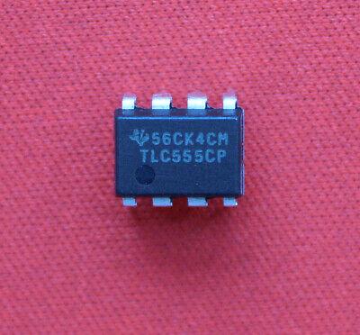 10pcs Tlc555cp Tlc555 Ic Chip Dip-8