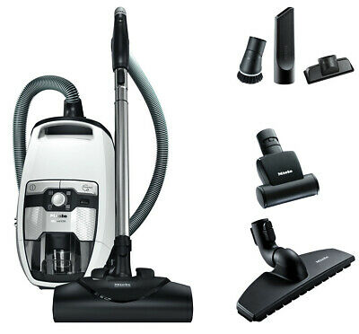 Miele Blizzard Bagless Cx1 Cat Dog Canister Vacuum Cleaner Lotus White