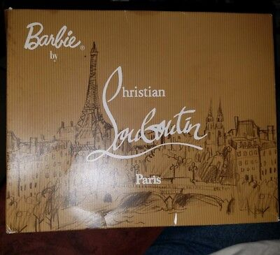 Barbie Calendar 2009 MY YEAR IN PARIS With Christian Louboutin BR-ST