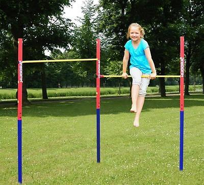 Gymnastic Turnreck Horizontal Bar Kids Play Workout Backyard Garden Toy Sports