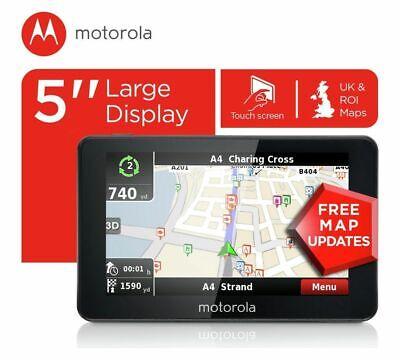 Motorola 5 Inch Sat Nav UK & ROI xplore500.
