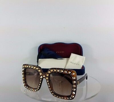 b20f3bf601293 Brand New Authentic Gucci GG 0148 002 Sunglasses Havana GG0148 Frame  Tortoise
