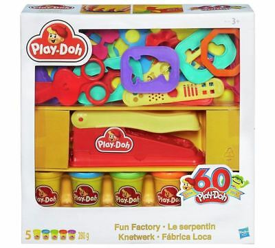 Hasbro Play Doh Deluxe 60th Anniversary 5 Pots Fun Factory Playset
