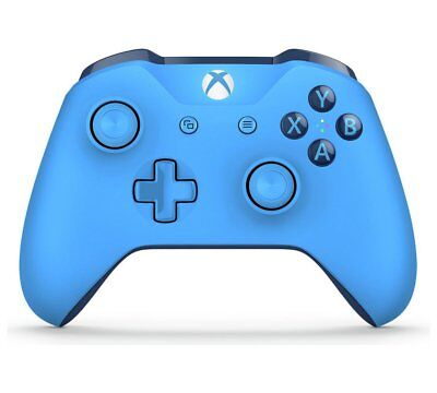 OFFICIAL MICROSOFT XBOX ONE WIRELESS CONTROLLER IN BLUE