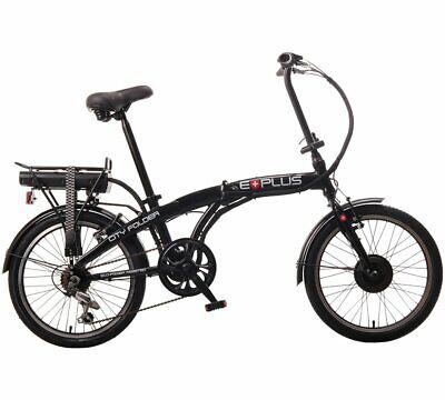 "EBike City Folder 24v Folding Electric Bike 20"" Black **BRAND NEW**"