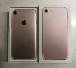 Iphone7 rose gold 380! Débloquer