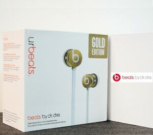 Beats by Dr. Dre UrBeats In-Ear Only Headphones - SE Gold limited Edition boxed