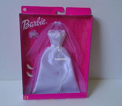 BARBIE Doll Clothes **WEDDING GOWN** Fashion Avenue Dress NEW #5