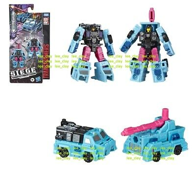 Transformers SIEGE War Micromaster 2pk DIRECT HIT & POWER PUNCH NEW! FORM CONVOY