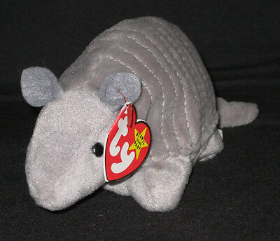 TY TANK the ARMADILLO BEANIE BABY - MINT with MINT TAGS, used for sale  Shipping to Canada
