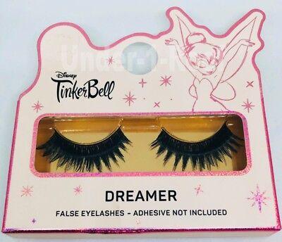 Tinkerbell Eye Makeup (PRIMARK DISNEY TINKERBELL DREAMER FALSE LASHES EYELASHES SET - Brand)