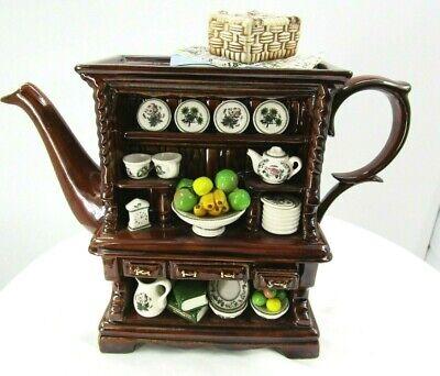 Cardew Design Botanic Garden Large Welsh Dresser Teapot great Condition