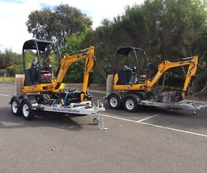 MINI EXCAVATOR FOR DRY HIRE!! TIGHT ACCESS. WEEKEND SPECIAL $400!!! Briar Hill Banyule Area Preview