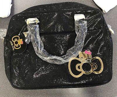 Sanrio Hello Kitty Black Glitter Laptop Bag Brand New - Hello Kitty Laptop Bag