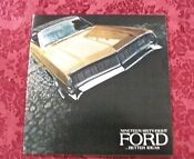 Ford Sales Brochure