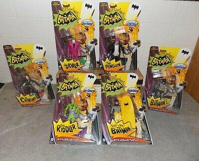 BATMAN 1966 Vintage TV Series Figures Toys Set MATTEL Lot Mattel Classic DC