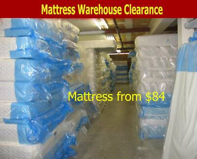 MATTRESS CLEARANCE - Inner spring ,Bonnel Spring - All sizes