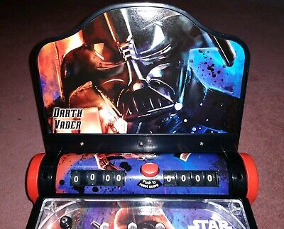 **COOL! Star Wars Darth Vader Electronic Tabletop Pinball Home Arcade - LOOK!**