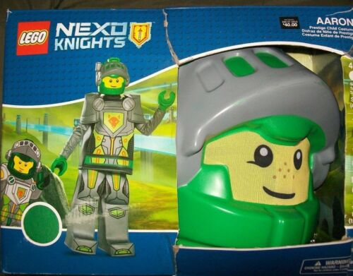 Lego Nexo Knights AARON Prestige Child Costume Dress-Up Small S Disguise 4-6 NEW