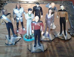 8 startrek generation  next characters  4 inches tall (1992 )