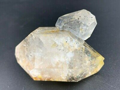 108.3 g Herkimer Diamond w/ Record Keeper, Penetrator, Rainbows and Hydrocarbon