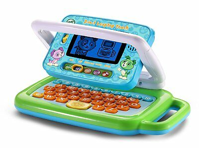 Kids Toy Laptop Computer LeapFrog 2-in-1 LeapTop Touch Learn The Alphabet Gift
