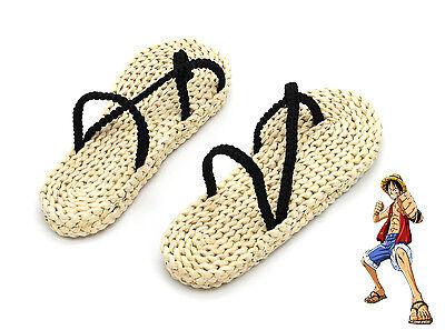 One Piece Monkey D. Ruffy Luffy Sandalen Schuhe Anime Cosplay Kostüm (Monkey D Luffy Kostüm)