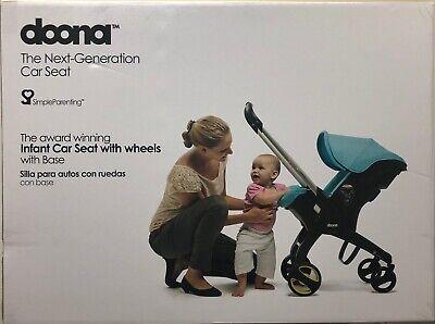 عربة أطفال للسفر بمقعد السيارة للأطفال الرضع من دونا - رمادي / ستورم مع قاعدة مزلاج جديد